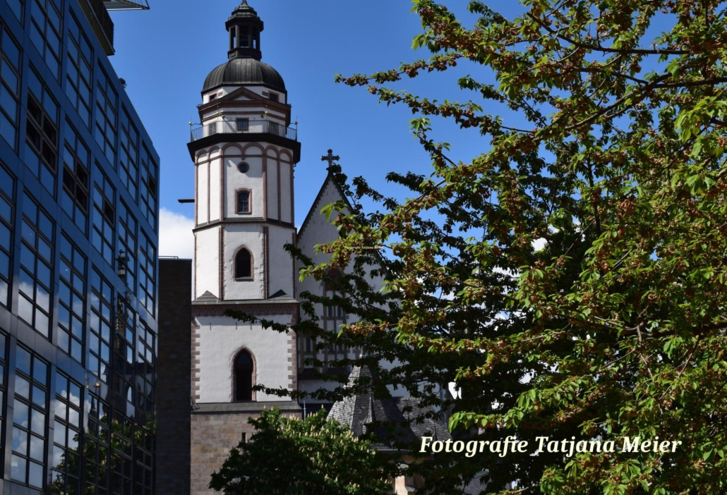 St. Thomas church in Leipzig, photography, Tatjana Meier