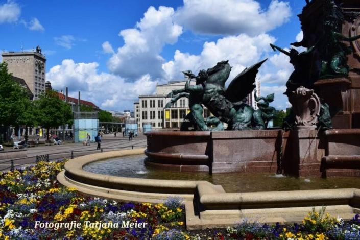 Augustusplatz. Leipzig. Fotografie Tatjana Meier