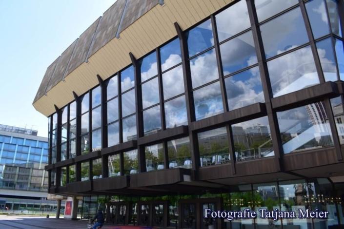 Gewandhaus. Lipsia. Fotografia Tatjana Meier