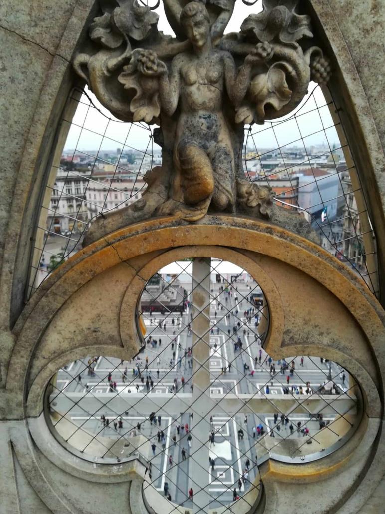 Milano, la vista dal duomo, fotografia Tatjana Meier