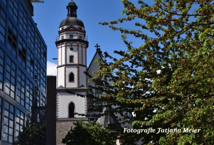 Chiesa Thomaskirche. Lipsia. Fotografia Tatjana Meier