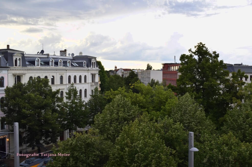 Piazza Waldplatz. Lipsia. Fotografia Tatjana Meier